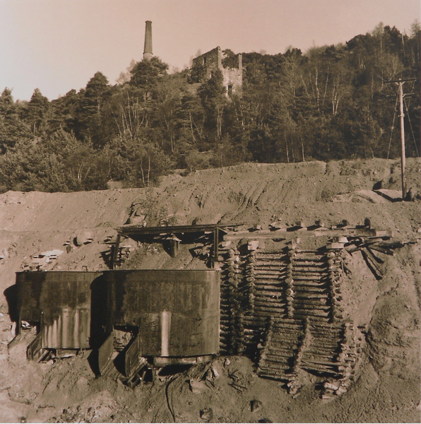 Avoca Copper Mines, Brian McIlveny (Unframed) - The Library Project