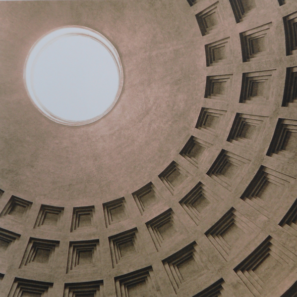 Pantheon, Roma, Brian McIlveny (Unframed) - The Library Project
