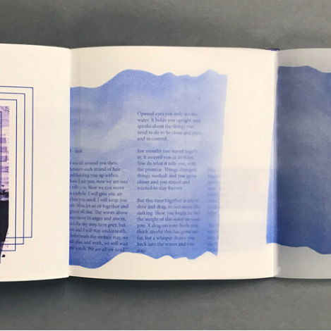 Deep Water, Izzy Rose Grange (Damn Fine Press) - The Library Project