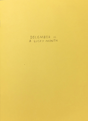 December is a Lucky Month, Conor Nolan (Damn Fine Press)