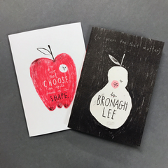 Do not choose and apple based on its shape, Bronagh Lee (Damn Fine Press) - The Library Project