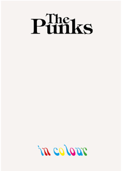 The Punks in Colour , Eddie Kenrick - The Library Project