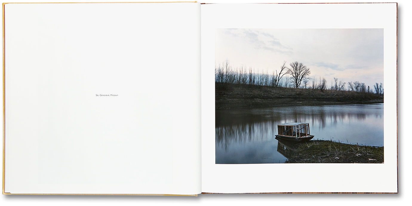 Sleeping by the Mississippi, Alec Soth - The Library Project