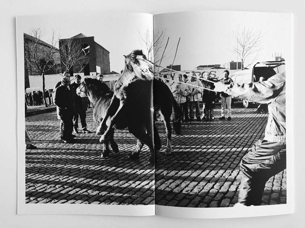 Smithfield Horse Fair Dublin 90-93, Wally Cassidy - The Library Project