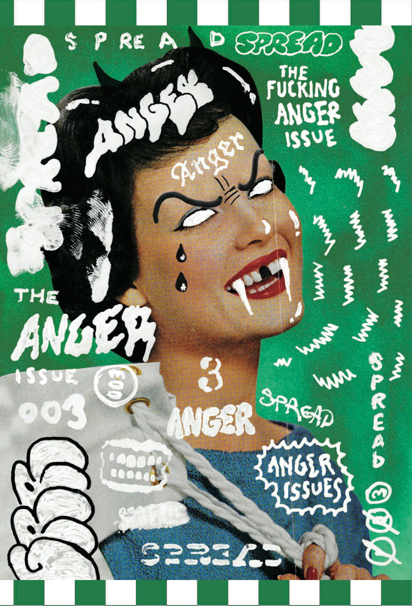 Spread 003: The Anger Issue