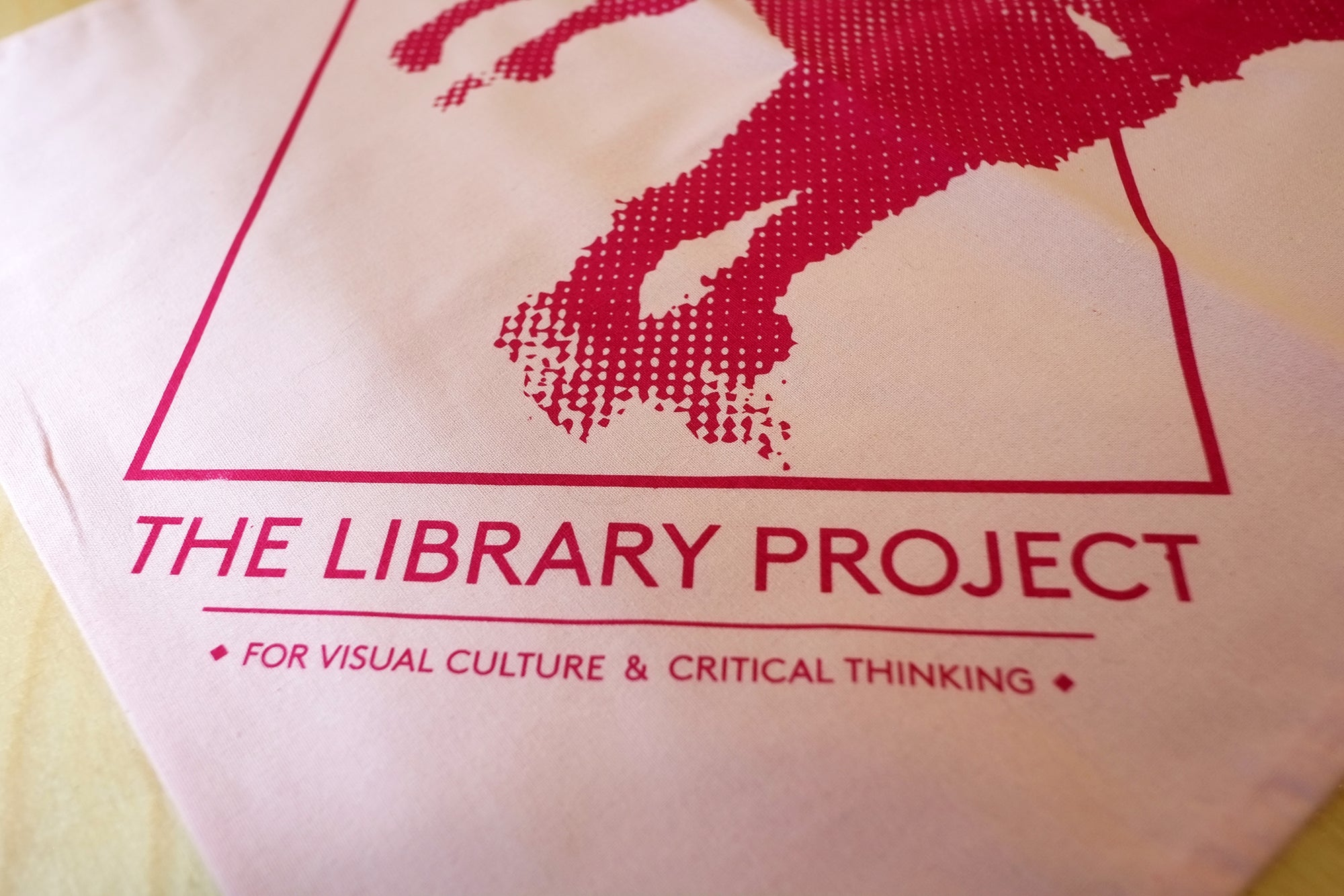 The Library Project Printed Tote Bag - Various Colours