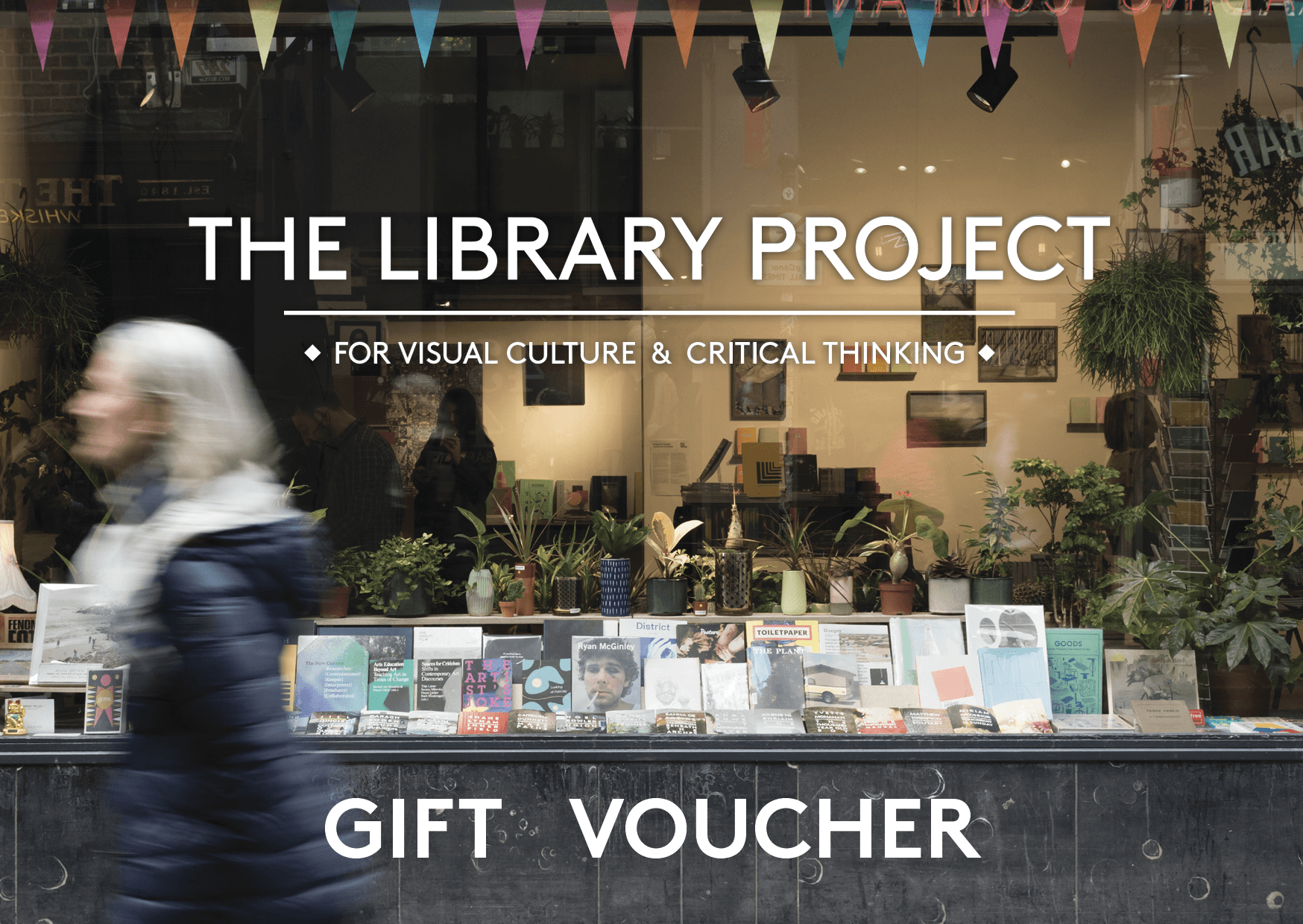Gift Voucher - The Library Project - The Library Project
