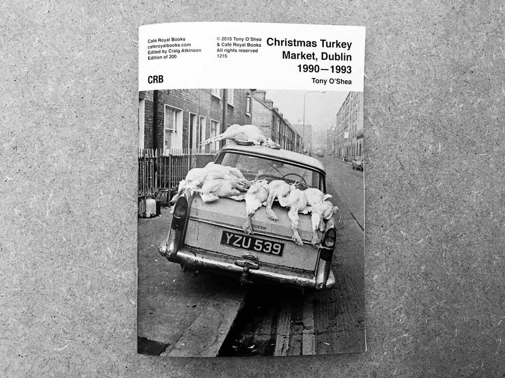 Christmas Turkey Market, Dublin 1990-1993, Tony O'Shea - The Library Project