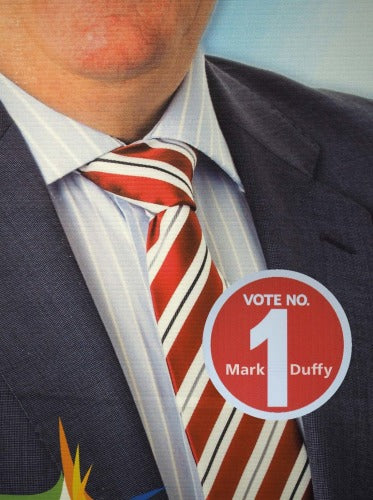 Vote No. 1 - Mark Duffy - The Library Project
