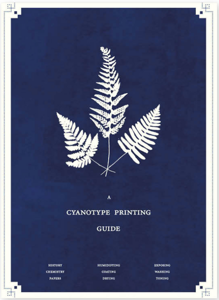 Cyanotype Printing Guide Zine, Lewis Bush