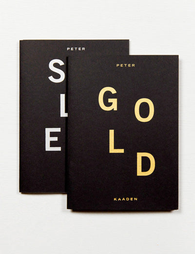 Gold and Silber (Set), Peter Kaaden - The Library Project