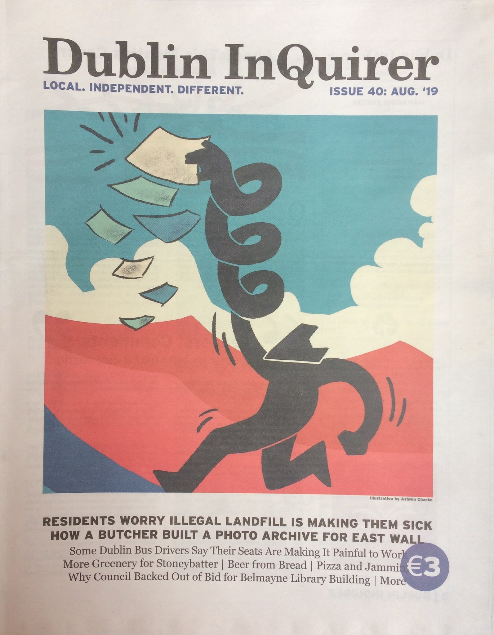 Dublin InQuirer Issue 40 - The Library Project