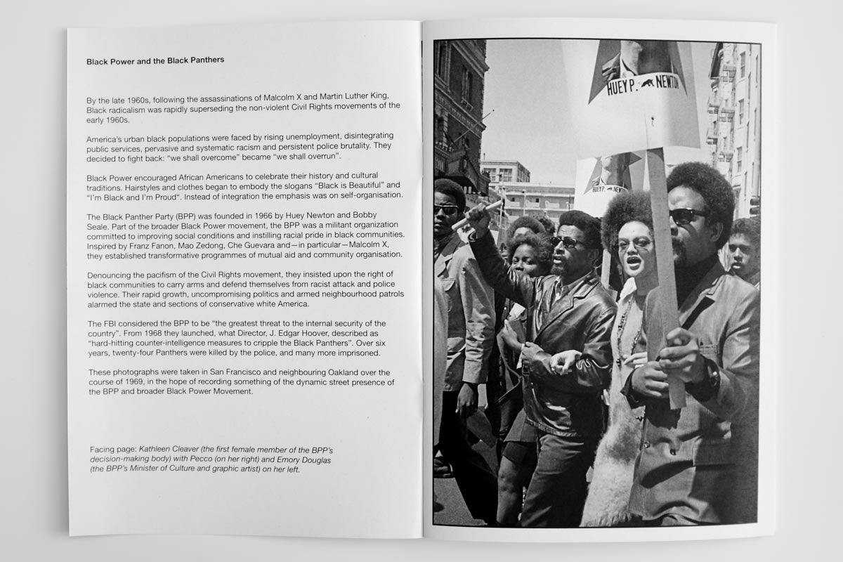 Black Power Black Panthers 1969, Janine Wiedel - The Library Project