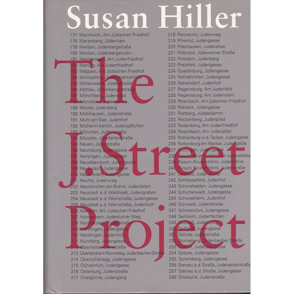 The J. Street Project, Susan Hiller - The Library Project