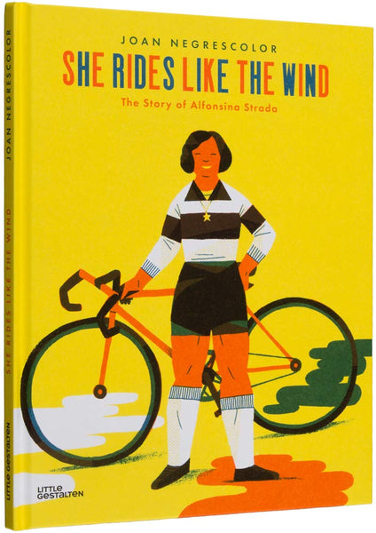 She Rides Like the Wind, Joan Negrescolor