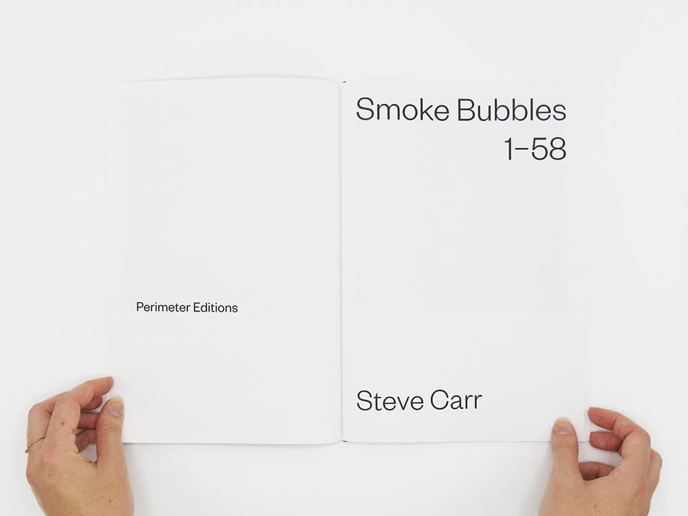 Smoke Bubbles 1-58, Steve Carr - The Library Project