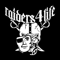High Roller R4L - 3'X5' Raiders 4 Life Banner