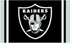 Raiders Nation - 3'X5' Raiders 4 Life Flag