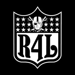 R4L Shield - 3'X5' Raiders 4 Life Banner