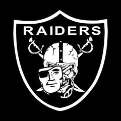 High Roller Shield Raiders 4 Life Decal/Window Sticker