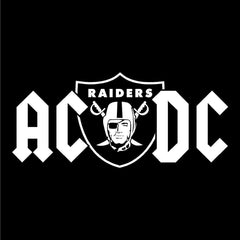 ACDC Derek Carr & Amari Cooper - Raiders 4 Life Decal/Window Sticker