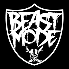 Beast Mode - Raiders 4 Life Decal/Window Sticker