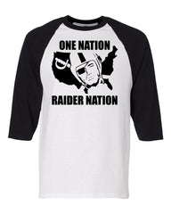 ONE NATION - Baseball 3/4 Sleeve R4L Tee