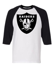 Raider Shield - Baseball 3/4 Sleeve R4L Tee