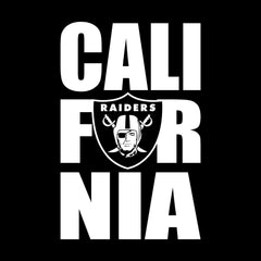 CALI FOR NIA - 3'X5' Raiders 4 Life Banner