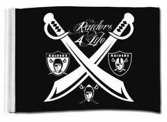 Team of the Decades - 3'X5' Raiders 4 Life Banner