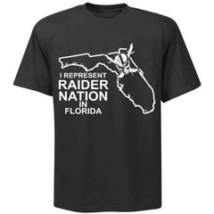 I Represent Raider Nation in Florida - R4L Shirt