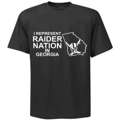 I Represent Raider Nation in Georgia - R4L Shirt