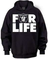 Raiders FOR LIFE Pullover Hoodie