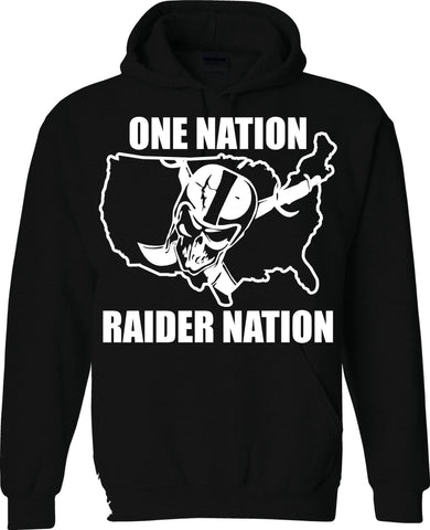 One Nation - Raiders 4 Life Pullover Hoodie