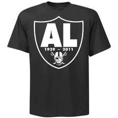 RIP Al Davis Shield Raiders 4 Life Tee Shirt