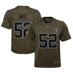 Khalil Mack - Oakland Raiders Salute to Service Jersey (Green)