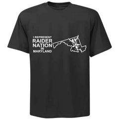 I Represent Raider Nation in Maryland - R4L Shirt