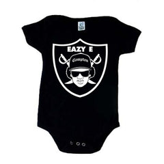 Eazy E Shield - Raiders 4 Life Kids Shirt or Onesie