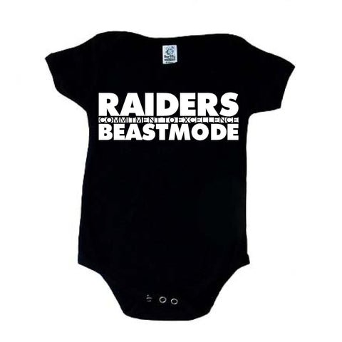 Beast Mode - Raiders 4 Life Kids Shirt or Onesie