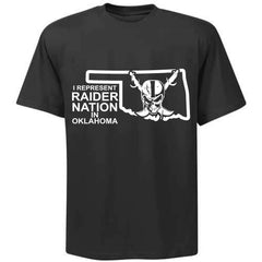 I Represent Raider Nation in Oklahoma - R4L Shirt
