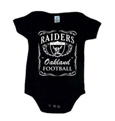 Jack Daniels - Raiders 4 Life Kids Shirt or Onesie