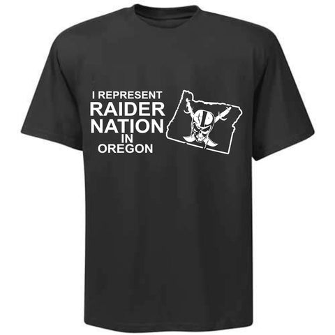 I Represent Raider Nation in Oregon - R4L Shirt