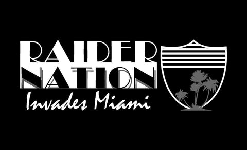 Raider Nation Invades Miami - Event Towel