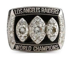 1983 Oakland Raiders Super Bowl XVIII Ring