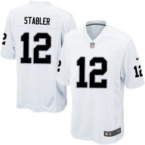 Ken Stabler - Oakland Raiders Away Jersey