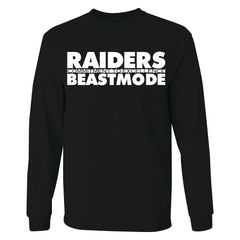 Beast Mode - Raiders 4 Life Sweater