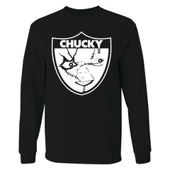 Chucky is Back in Black - Raiders 4 Life Sweater