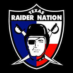 Texas Raider Nation - Raiders 4 Life Decal/Window Sticker