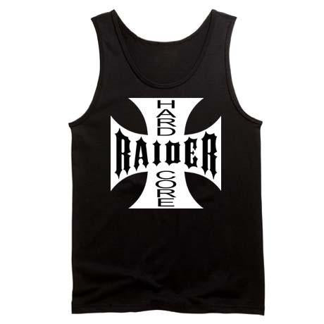Hardcore Raiders 4 Life Iron Cross Tank Top