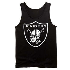 High Roller Shield Raiders 4 Life Tank Top